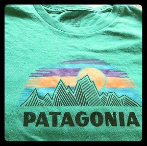 Patagonia Men's slim fit tshirt-XL